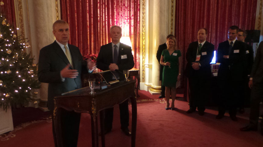 D5 reception at Buckingham Palace