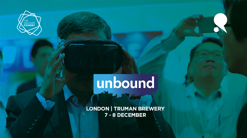 Relative Insight selected by Unilever Foundry for Unbound London 2016