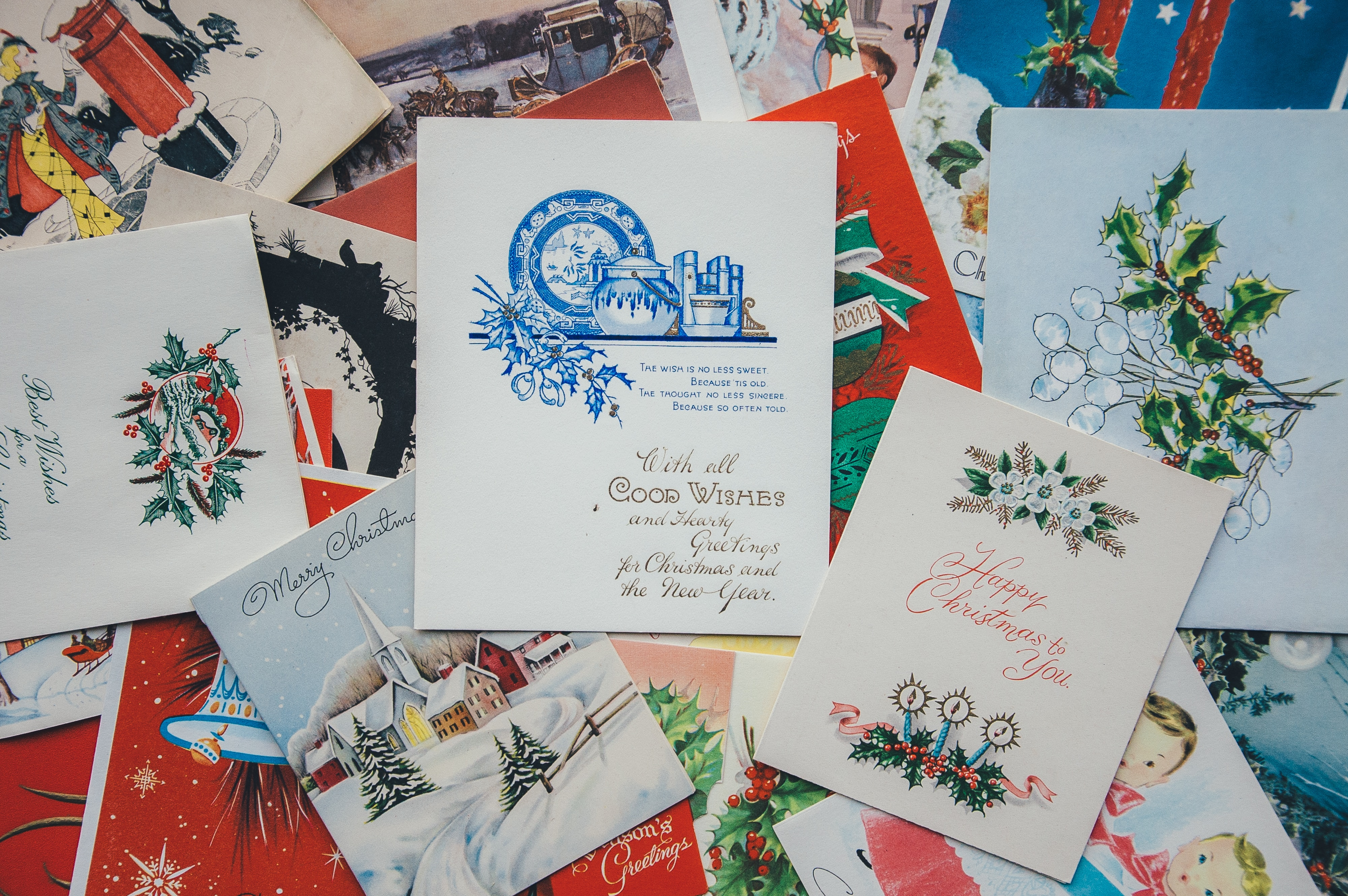 Christmas cards from the trenches: comparing language from WW1