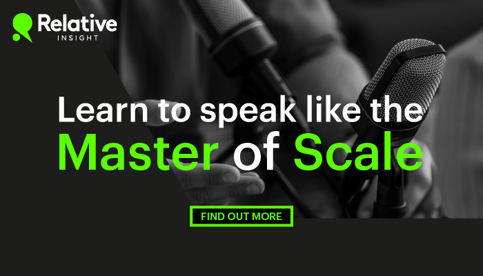 How to speak like the master of scale