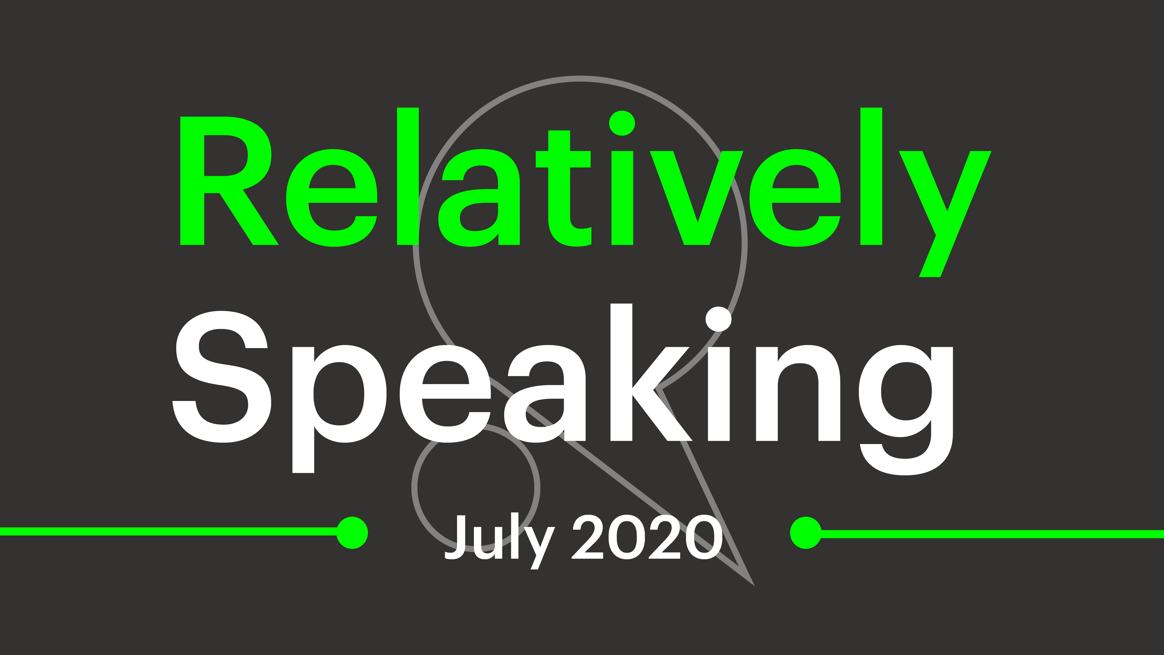 Relatively Speaking #2 – all about surveys