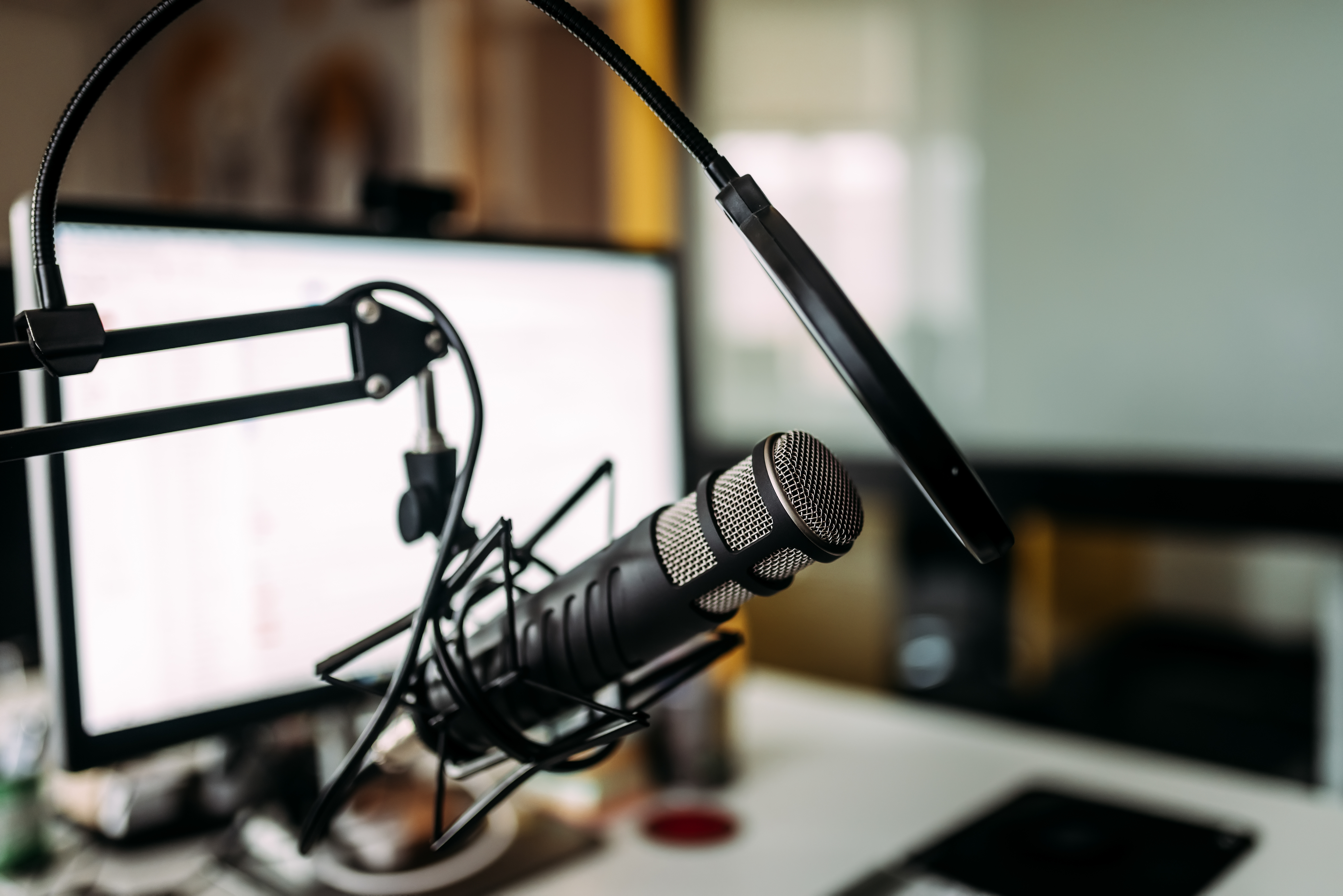Do podcasters speak differently?