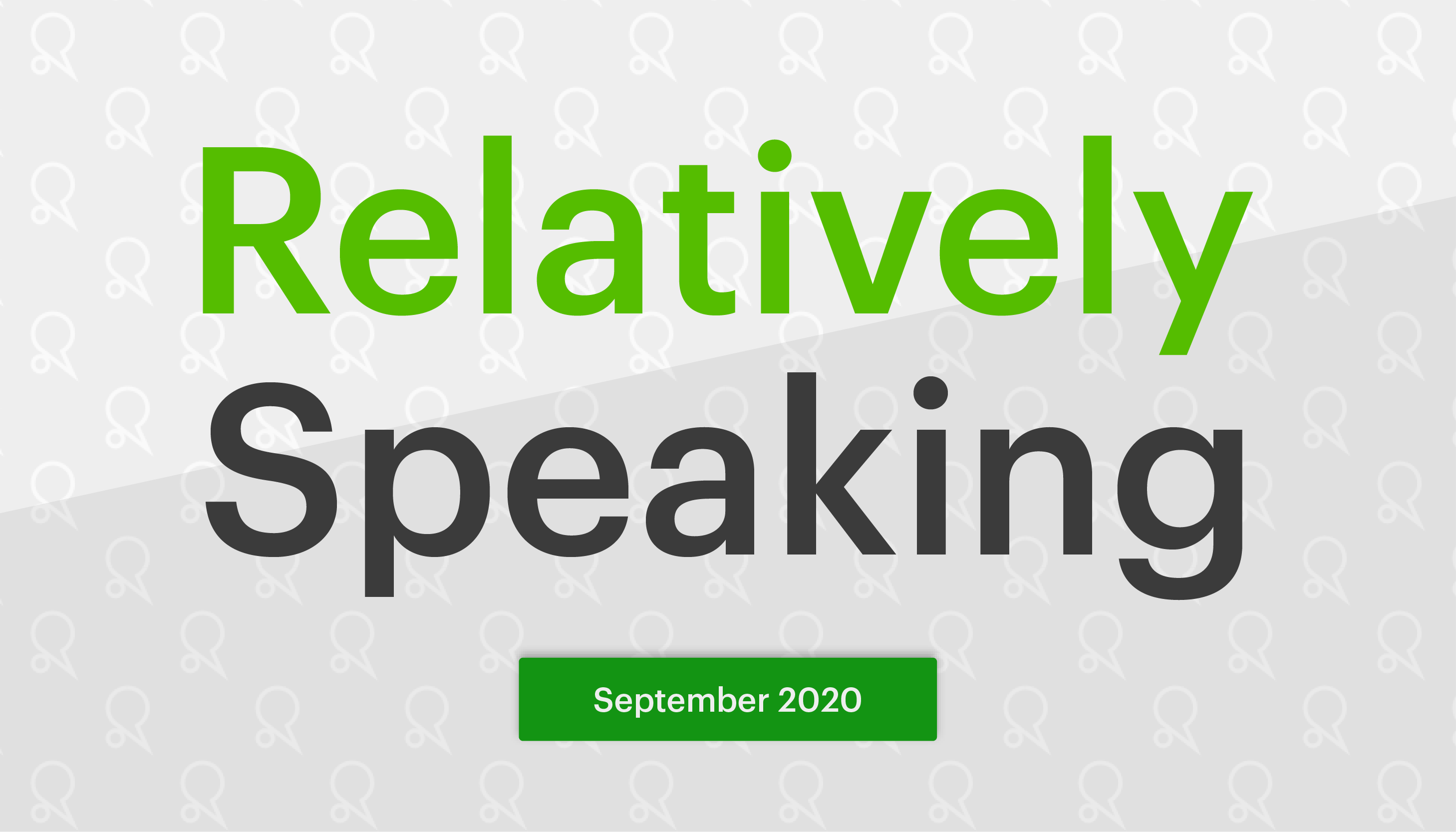 Relatively Speaking #3 – getting more from your data