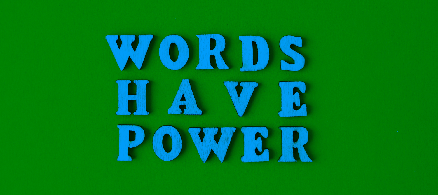 qualitative data and words have power