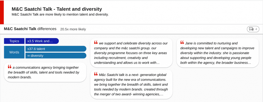 Insight card - talent and diversity