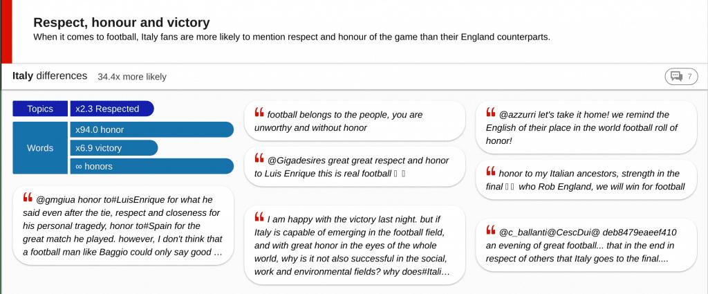 insight card - respect of football fans