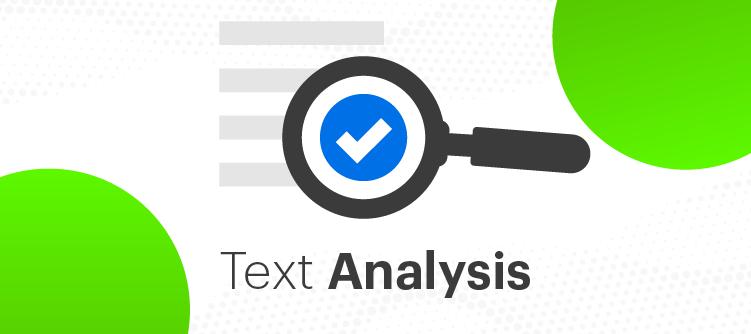 text analysis icon